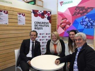 Los representantes de Freshuelva también se han reunido con representantes de las cadenas de supermercados Migros (Suiza) y Edeka (Alemania)