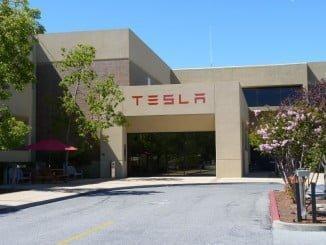 Sede de Tesla Motors en Palo Alto (California)