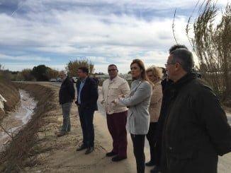 El director de Planificación y Gestión de Dominio Público Hidráulico visita La Redondela