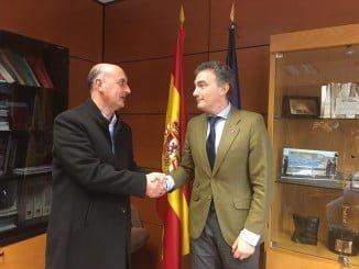 Reunión del alcalde de Lepe con el director general de Carreteras