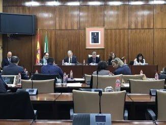 Aquilino Alonso en la Comisión de Salud