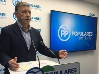 """Carmelo Romero cree que el PSOE no es el más indicado para hablar de inversiones en Huelva """"porque no han hecho ni una obra en la provincia ni ahora ni en 8 años que gobernaron"""""""