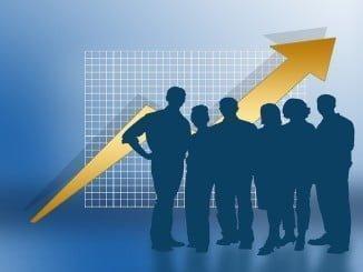La cifra de negocios empresarial encadena tres años consecutivos en positivo