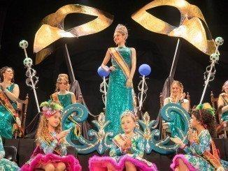 Noemí González de la Concepción y Mari Paz González ya lucen sus coronas del Carnaval 2017