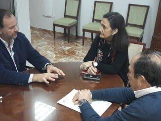 La subdelegada del Gobierno y el presidente de Asaja han analizado el sector agrícola y ganadero