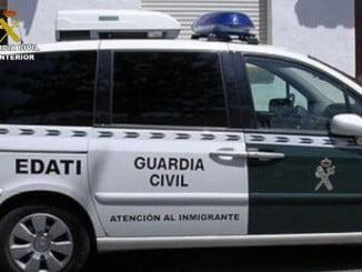 Las personas que han denunciado los hechos  a la Guardia Civil son inmigrantes