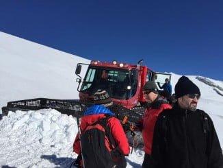 El equipo de nives y  aludes tuvo mucho trabajo en enero