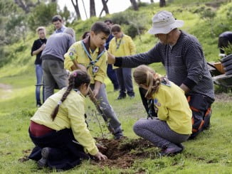 60 niños procedentes del Grupo Scout Orion han participado en esta actividad