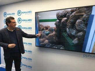 Manuel Andrés González ha mostrado imágenes sobre la falta de limpieza en el hospital