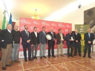 Los premiados por la Diputación, que ha dedicado el certamen al 525 Aniversario