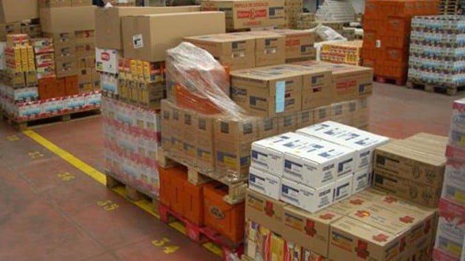Los alimentos se distribuirán a todas las provincias españolas