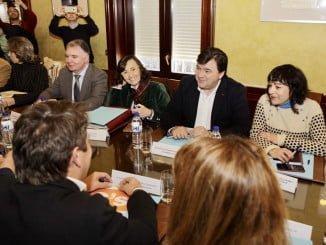 Satisfacción de todas las partes tras la reunión presidida por la consejera de Cultura y el alcalde