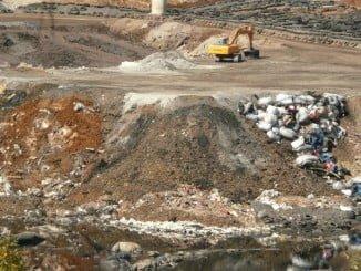 El vertedero de Nerva es una de las infraestructuras de eliminación de residuos de la provincia
