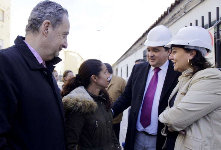 El alcalde ha visitado las obras de la primera fase, que tienen un plazo de cuatro meses