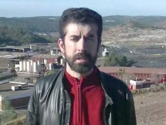 El portavoz del Partido Popular en el Ayuntamiento de Nerva, José Antonio Lozano