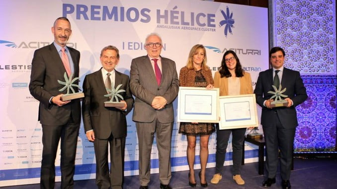 Gala de la I edición de los Premios Hélice