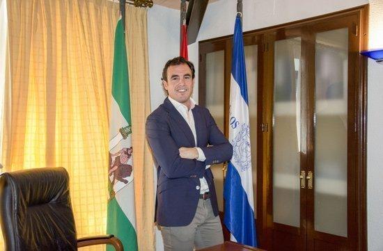 Alcalde de Bollullos, Rubén Rodriguez.