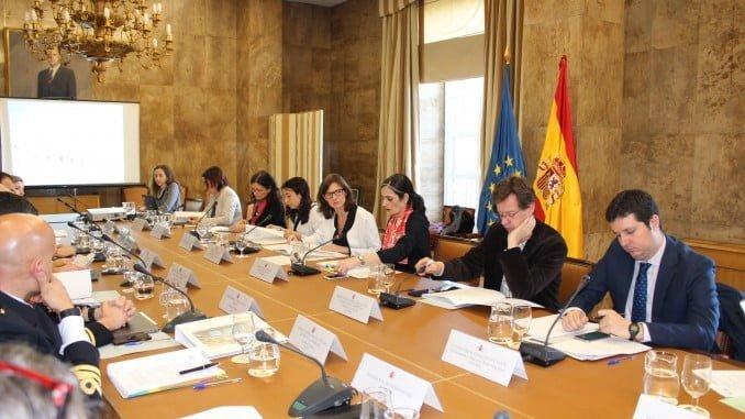 Reunión de evaluación de las estrategias marinas en España.