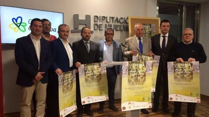 Representantes de las distintas entidades e instituciones que apoyan la Feria del Aceita de Beas, entre ellas Fundación Caja Rural del Sur.