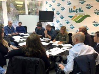 Comité de Gestión de la Playa de Islantilla reunido esta mañana