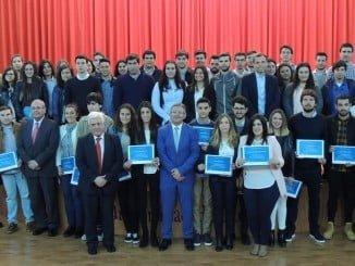 Entrega por Fundación Atlantic Copper de las Becas 2016-2017 en la Universidad de Huelva.