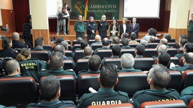 Un centenar de efectivos de las FCS del Estado participan en las jornadas VioGén