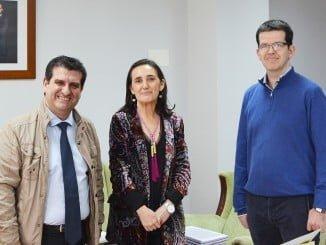 Reunión de Grávalos con el Colegio de Administradores de Fincas