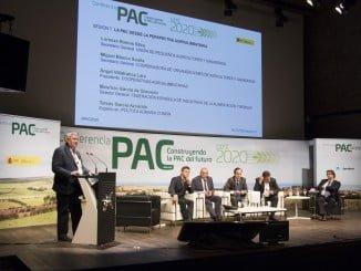 """El secretario general de UPA, Lorenzo Ramos Silva, ha intervenido hoy en la conferencia de alto nivel PAC post 2020 """"Construyendo la PAC del futuro"""""""