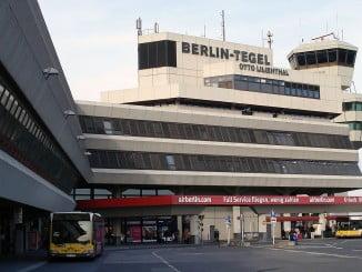 Aeropuerto de Tegel en Berlín, uno de los afectados por la huelga