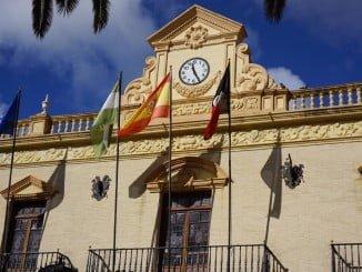 Fachada del Ayuntamiento de Ayamonte