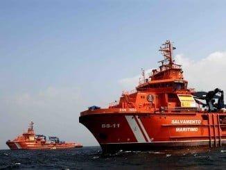 Una de las 59 embarcaciones o buques de Salvamento Marítimo