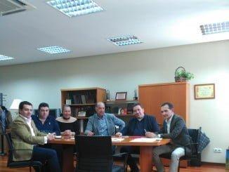 Reunión del delegado de Economía con la Confederación Empresarial de Comercio de Andalucía