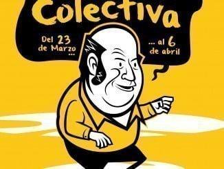 Cartel anunciador de la exposición colectiva en el Espacio Ruben´s