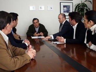 Ciudadanos se ha reunido con la Agrupación de Interés por la Infraestructuras de Huelva