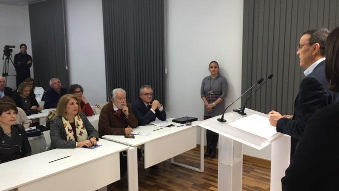 """Caraballo subraya el compromiso de la Diputación con las políticas sociales y ha agradecido a las asociaciones y entidades la """"gran labor que realizan"""
