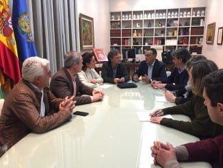 Rocío Espinosa, Fiscal, Caraballo y Manuel Gómez debaten sobre la organización de la feria