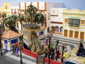 """El centro comercial La Plaza de Ayamonte acoge ya la tradicional exposición en miniatura de la Asociación Juvenil """"El Solá"""""""