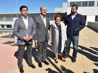 Los alcaldes de la Costa visitaron recientemente las obra del hospital