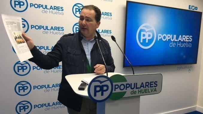 El secretario general del PP en Huelva exige explicaciones tras conocerse las grabaciones