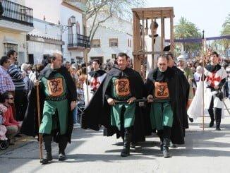 Desfile Medieval en palos de la Frontera