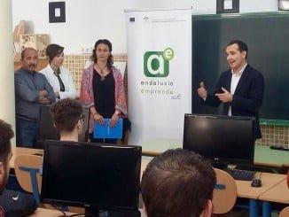 Manuel Ceada en la puesta en marcha de la segunda edición del programa 'Diseñarte'