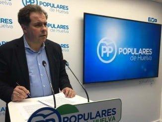 Juan Carlos Duarte explica las mociones que el PP lleva a la Diputación