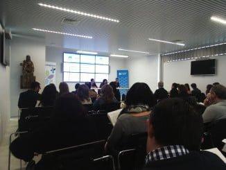 La vicepresidenta de la Diputación y el delegado de Economía inauguran el encuentro