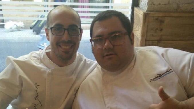 Ernest Jurado (a la derecha), se ha clasificado para la semifinal
