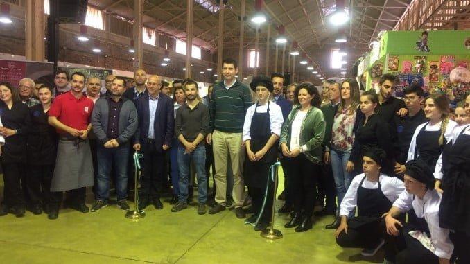 Inaugurada la Feria de la Gastronomía de Valverde