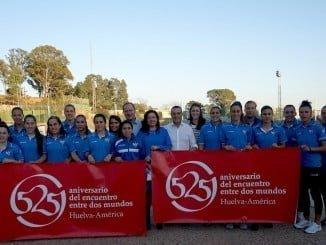 El club femenino promocionará el 525 Aniversario del Encuentro entre Dos Mundos