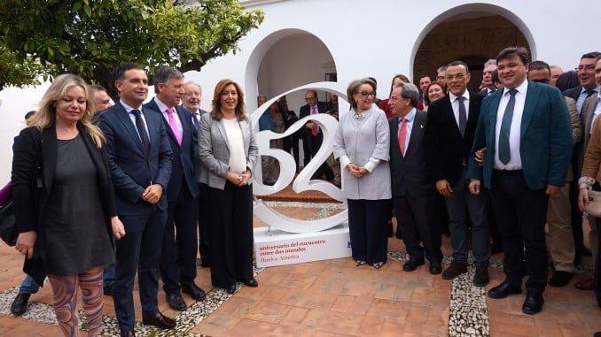 La presidenta de la Junta ha firmado el acuerdo en La Rábida