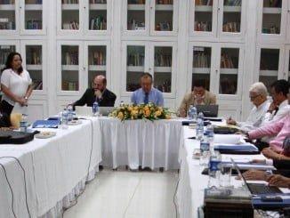Reunión del Grupo La Rábida en Cartagena de Indias (Colombia)
