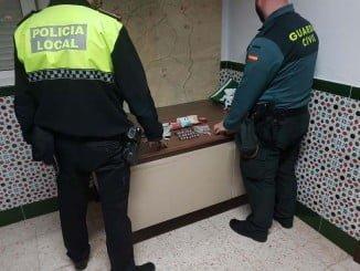 En la operación han participado agentes de la Guardia Civil y de la Policía Local