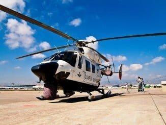En la operación participan medios aéreos de la Guardia Civil